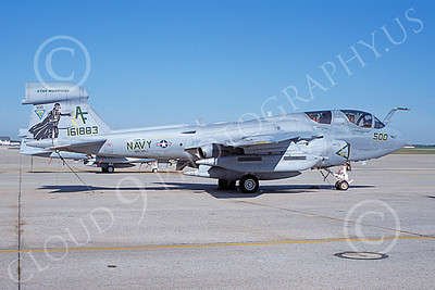 EA-6BUSN 00389 A static Grumman EA-6B Prowler USN 161883 VAQ-209 STAR WARRIORS Andrews AFB 4-2006 military airplane picture by David Blair
