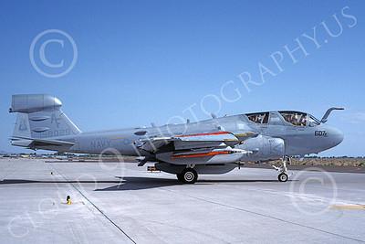 EA-6BUSN 00397 A taxing Grumman EA-6B Prowler USN 158029 VAQ-209 STAR WARRIORS NAS Fallon 5-1983 military airplane picture by Michael Grove, Sr