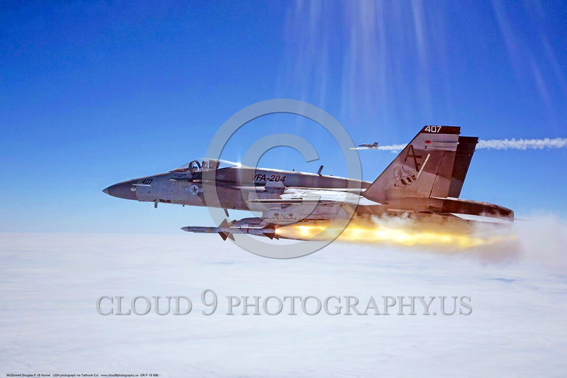 VFA-204 River Rattlers  Boeing F/A-18 Hornets AF #407 firing a Sparrow during a missile shoot from Key West.  1September 2015.<br /> Jose Ramos<br /> VFA-204 River Rattlers  Boeing F/A-18 Hornets AF #407 firing a Sparrow during a missile shoot from Key West.  1September 2015.<br /> Jose Ramos<br /> VFA-204 River Rattlers  Boeing F/A-18 Hornets AF #407 firing a Sparrow during a missile shoot from Key West.  1September 2015.<br /> Jose Ramos
