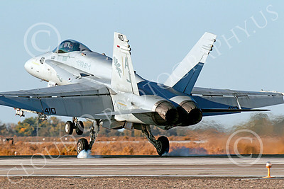Boeing F-18C-USN 00031 A landing Boeing F-18C Hornet jet fighter USN VFA-87 WAR PARTY NAS Fallon 10-2013 military airplane picture by Peter J Mancus