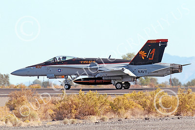 Boeing F-18C-USN 00107 A taxing colorful Boeing F-18 Hornet US Navy 164250 VFA-87 WAR PARTY USS George H W Bush AJ code NAS Fallon 10-2013 military airplane picture by Peter J Mancus