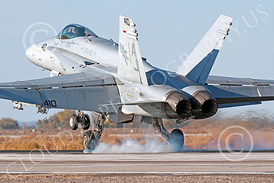 Boeing F-18C-USN 00213 A landing Boeing F-18C Hornet jet fighter USN VFA-87 WAR PARTY NAS Fallon 10-2013 military airplane picture by Peter J Mancus