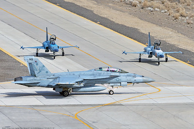 F-18F-USN-VF-11 0007 A taxing Boeing F-18F Super Hornet USN jet fighter 166623 VF-11 RED RIPPERS at Nas Fallon 3-2017 military airplane picture by Peter J  Mancus      DONEwt