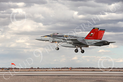 Boeing F-18C-USN 00116 A landing Boeing F-18C Hornet USN VFA-113 STINGERS USS Carl Vinson NAS Fallon 3-2013 military airplane picture by Peter J Mancus