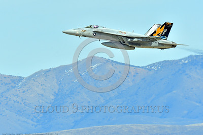 F-18E-USN-VFA-115 0004 A flying Boeing F-18E Super Hornet USN jet fighter 166859 VFA-115 EAGLES commanding officer's airplane USS Ronald Reagan NAS Fallon 3-2017 military airplane picture by Peter J Mancus     DONEwt