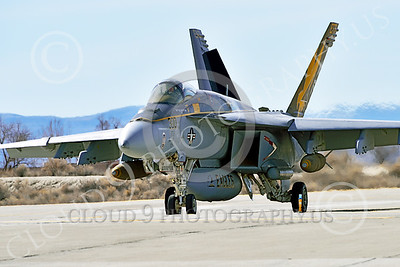 Boeing F-18E-USN 00217 A Boeing F-18E Super Hornet USN 166859 VFA-115 EAGLES commanding officer's airplane USS George Washington NF code with large bomb taxis for take-off at NAS Fallon 2-2015 military airplane picture by Peter J Mancus