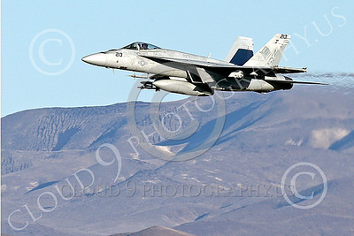 Boeing F-18E-USN 00130 A Boeing F-18E Super Hornet jet fighter USN VFA-14 TOPHATTERS flying at NAS Fallon 1-2015 military airplane picture by Peter J Mancus