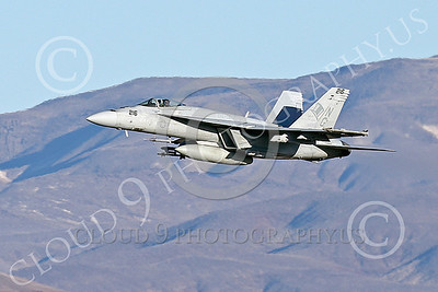 Boeing F-18E-USN 00136 A Boeing F-18E Super Hornet jet fighter USN VFA-14 TOPHATTERS flying at NAS Fallon 1-2015 military airplane picture by Peter J Mancus