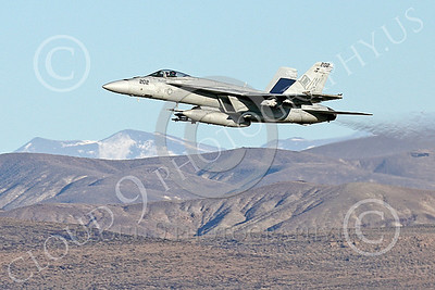 Boeing F-18E-USN 00114 A Boeing F-18E Super Hornet jet fighter USN VFA-14 TOPHATTERS flying at NAS Fallon 1-2015 military airplane picture by Peter J Mancus