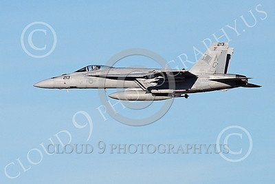 Boeing F-18E-USN 00120 A flying Boeing F-18E Super Hornet jet fighter USN VFA-14 TOPHATTERS 1-2015 military airplane picture by Peter J Mancus