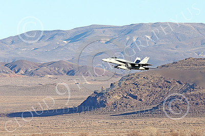 Boeing F-18E-USN 00126 A Boeing F-18E Super Hornet jet fighter USN VFA-14 TOPHATTERS flying at NAS Fallon 1-2015 military airplane picture by Peter J Mancus