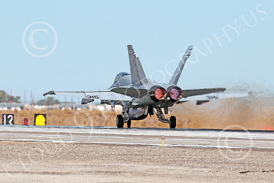AB-F-18USN 00214 A McDonnell Douglas F-18 Hornet USN 164646 jet fighter VFA-15 VALIONS in full afterburner at NAS Fallon 10-2013 military airplane picture by Peter J Mancus