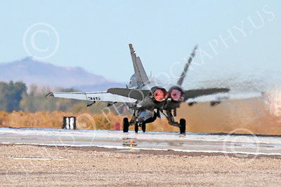 AB-F-18USN 00224 A McDonnell Douglas F-18 Hornet USN 164646 jet fighter VFA-15 VALIONS in full afterburner at NAS Fallon 10-2013 military airplane picture by Peter J Mancus