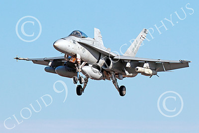 Boeing F-18C-USN 00118 A landing Boeing F-18C Hornet jet fighter USN VFA-15 VALIONS 10-2013 military airplane picture by Peter J Mancus