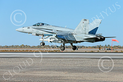 Boeing F-18C-USN 00278 A landing Boeing F-18C Hornet jet fighter USN VFA-15 VALIONS USS George H W Bush NAS Fallon 10-2013 military airplane picture by Peter J Mancus