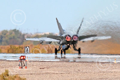 AB-F-18USN 00218 A McDonnell Douglas F-18 Hornet USN 164646 jet fighter VFA-15 VALIONS in full afterburner at NAS Fallon 10-2013 military airplane picture by Peter J Mancus