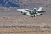 Boeing F-18E-USN 00160 A flying Boeing F-18E Super Hornets USN VFA-151 VIGILANTES climbs out after taking off at NAS Fallon 1-2015 military airplane picture by Peter J Mancus
