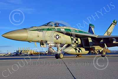 Boeing F-18E-USN 00213 A static Boeing F-18E Super Hornet USN 166901 VFA-195 DAMBUSTERS commanding officer's airplane CHIPPY HO USS George Washington NF code at NAS Fallon 2-2015 military airplane picture by Peter J Mancus