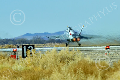 Boeing F-18F-USN 00310 A Boeing F-18F Super Hornet USN VFA-2 BOUNTY HUNTERS CAG NE code commanding officer's airplane USS Ronald Reagan takes off in afterburner at NAS Fallon 2-2015 military airplane picture by Peter J Mancus