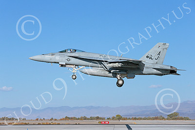 Boeing F-18E-USN 00094 A Boeing F-18E Super Hornet USN VFA-31 TOMCATTERS USS George H W Bush AJ code lands at NAS Fallon 10-2013 military airplane picture by Peter J Mancus