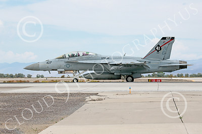 Boeing F-18F-USN 00143 A Boeing F-18F Super Hornet jet fighter USN VFA-41 Black Aces on runway for take-off at NAS Fallon 7-2014 military airplane picture by Peter J Mancus