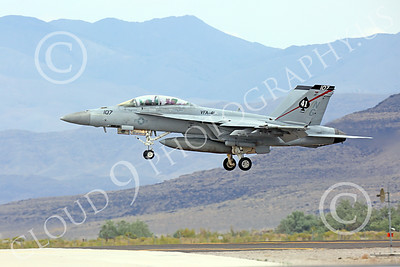 Boeing F-18F-USN 00140 A Boeing F-18F Super Hornet jet fighter USN VFA-41 Black Aces on final approach to land at NAS Fallon 7-2014 military airplane picture by Peter J Mancus