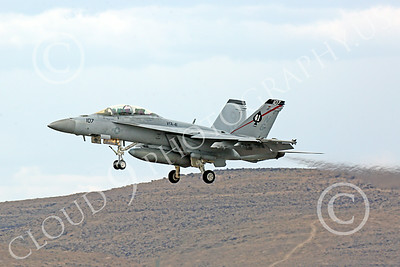 Boeing F-18F-USN 00162 A Boeing F-18F Super Hornet jet fighter USN VFA-41 Black Aces on landing approach at NAS Fallon 7-2014 military airplane picture by Peter J Mancus