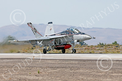Boeing F-18F-USN 00005 A Boeing F-18F Super Hornet jet fighter USN VFA-41 Black Aces CAG on take-off roll at NAS Fallon military airplane picture by Peter J Mancus
