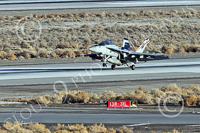 Boeing F-18F-USN 00247 A Boeing F-18F Super Hornet jet fighter US Navy VFA-41 BLACK ACES CAG lands at NAS Fallon 1-2015 military airplane picture by Peter J Mancus