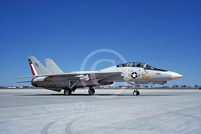 F-14USN  01279  A taxing Grumman F-14 Tomcat USN 162711 VF-202 SUPERHEATS NAS Fallon 8-1988, by Michael Grove, Sr