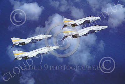 F-4USN 00166 McDonnell Douglas F-4 Phantom II US Navy VF-302 STALLIONS 27 March 1981, military airplane picture, by Robert L Lawson