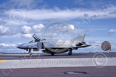 F-4USN 00643 A taxing McDonnell Douglas F-4S Phantom II US Navy 153832 VF-302 STALLIONS NAS Fallon 5-1983 military airplane picture by Michael Grove, Sr