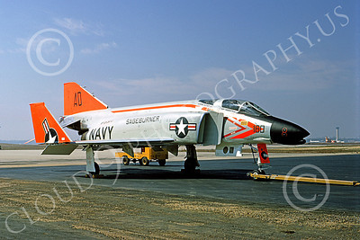 F-4USN 00018 McDonnell Douglas F-4A Phantom II US Navy 145307 SAGEBURNER March 1968, by Michael Grove, Sr