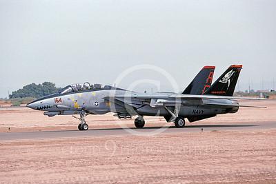 F-14USN 00917 A taxing Grumman F-14 Tomcat USN 159592 VF-101 GRIM REAPERS NAF El Centro 4-2001, by Michael Grove, Sr