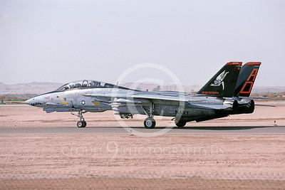 F-14USN 00923 A taxing Grumman F-14 Tomcat USN 161287 VF-101 GRIM REAPERS NAF El Centro 4-2002, by Michael Grove, Sr