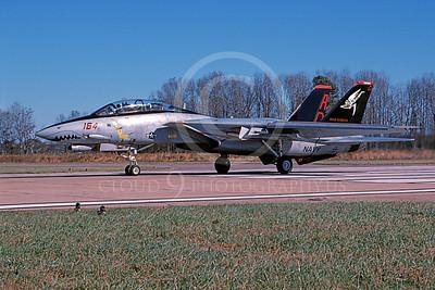 F-14USN 00909 A taxing Grumman F-14 Tomcat USN 164342 VF-101 GRIM REAPERS NAS Oceana 11-2003, by Harold Weiss