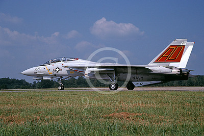 F-14USN 00905 A taxing Grumman F-14 Tomcat USN 164601 VF-101 GRIM REAPERS NAS Oceana 9-2005, by David F Brown