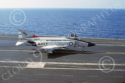 F-4USN 00176 McDonnell Douglas F-4J Phantom II US Navy 155871 VF-121 PACEMAKERS 14 Dec 1976, military airplane picture, by Don Logan