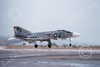 F-4USN 00315 McDonnell Douglas F-4 Phantom II US Navy 5887 VF-121 PACEMAKERS NAS Miramar Oct 1976, by Michael Grove, Sr