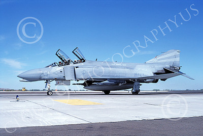 F-4USN 00577 A taxing McDonnell Douglas F-4 Phantom II US Navy 1431 VF-154 BLACK KNIGHTS USS Coral Sea NK NAS Fallon Oct 1982 airplane picture by Michael Grove, Sr