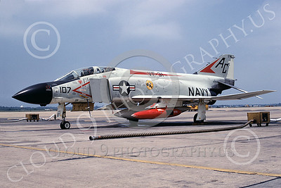 F-4USN 00435 McDonnell Douglas F-4J Phantom II US Navy 155580 VF-31 TOMCATTERS NAS Oceana 20 July 1968, military airplane picture, by Jack D Morris D