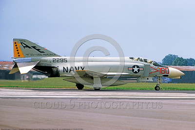 F-4II-USN-VF-33 0001 A taxing McDonnell Douglas F-4B Phantom II US Navy carrier based jet fighter 152295 VF-33 TARSIERS USS America 6-1967 military airplane picture by Wilfried Zetsche     DONEwt