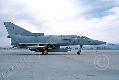 F-21-USN 00003 A taxing Israeli Aircraft F-21 Kfir jet fighter USN 999786 VF-43 CHALLENGERS NAS Fallon 6-1987 military airplane picture by Michael Grove, Sr