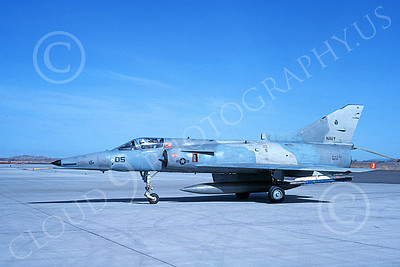 F-21-USN 00011 A taxing Israeli Aircraft F-21 Kfir jet fighter USN 999735 VF-43 CHALLENGERS NAS Fallon 3-1989 military airplane picture by Michael Grove, Sr