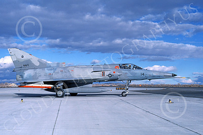 F-21-USN 00029 A taxing Israeli Aircraft F-21 Kfir jet fighter USN 999728 VF-43 CHALLENGERS NAS Fallon 11-1986 military airplane picture by Michael Grove, Sr