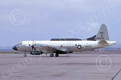 EP-3USN 00055 A static Lockheed EP-3E Aries II USN 149669 VQ-1 WORLD WATCHERS PR code 3-1974 by Michael Grove, Sr