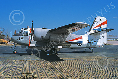 S-2USN 00111 A static Grumman US-2B Tracker USN 136433 VC-10 CRUSADERS NAF Wash military airplane picture by Gus Willete