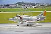 A-4USN-VC-5 0001 A taxing Douglas A-4E Skyhawk USN 151023 VC-5 CHECKERTAILS UE code 1977 military airplane picture by Hideki Nakagubo