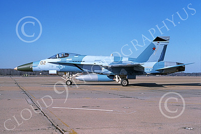Boeing F-18C-USN 00049 A taxing Boeing F-18C Hornet USN 162859 VFC-12 OMARS NAS Oceana 1-1994 military airplane picture by Michael Grove, Sr