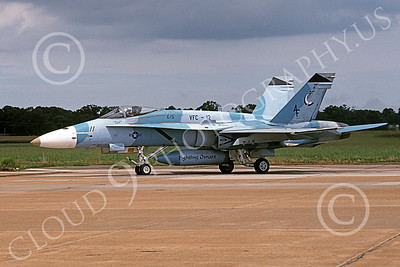 Boeing F-18C-USN 00231 A blue taxing Boeing F-18C Hornet USN 162478 VFC-12 OMARS NAS Oceana 8-2003 military airplane picture by Charles Combs